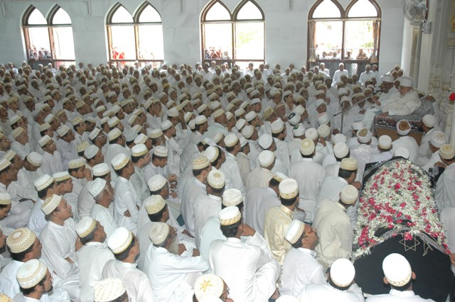 Taqreer of Huzoor-e-aali (tus) and the manzar of mumineen in Masjidun Nooraani