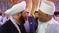 Huzoor e 'Aali TUS with the Grand Mufti of Syria