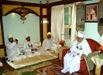 Majlis of the Wadaa' of Zuvvaar at Daar us-Salaam where Huzoor-e-'Aali (tus) gave Hidaayaat