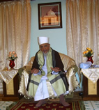 Saiyedna Saheb giving Naseehat