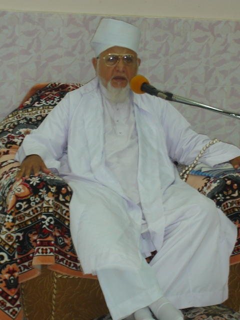 Saiyedna saheb (tus) at the roza-iftaari function