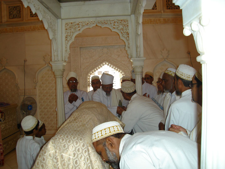 Arz for Du'a at the Mazaar-e-Aqdas of Saiyedi Fakhruddin shaheed (ra)